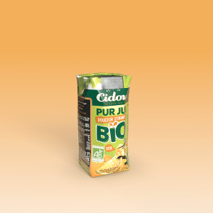 pur jus douceur d'orange bio cidou
