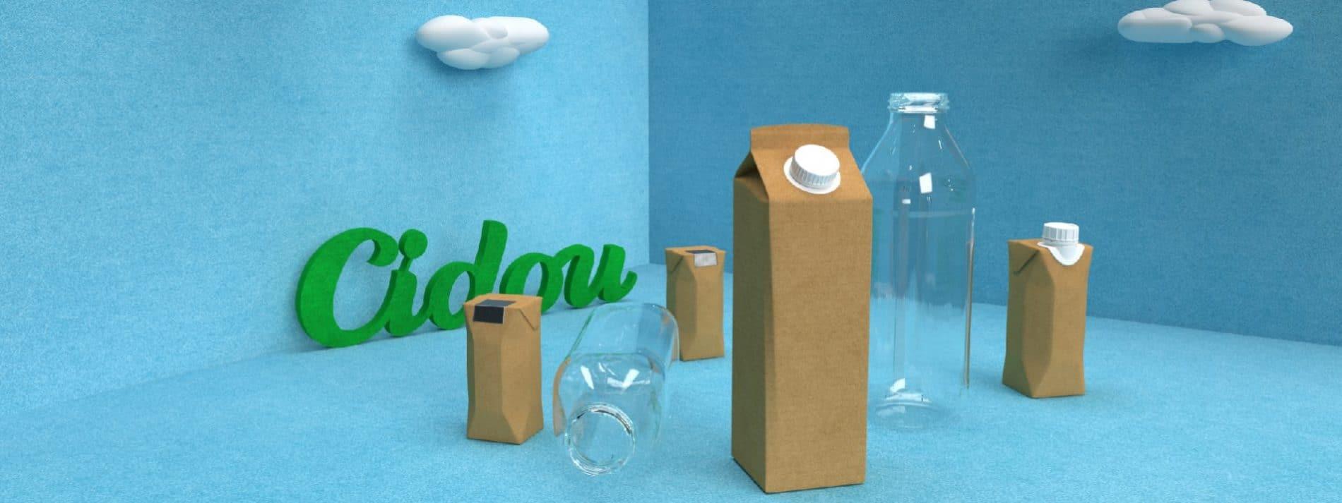 les emballages cidou sans plastique