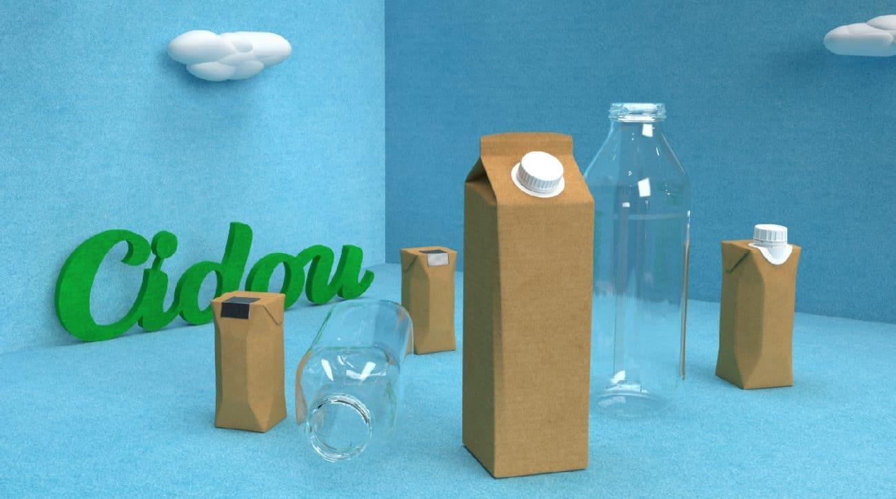 pas de bouteille plastique chez cidou